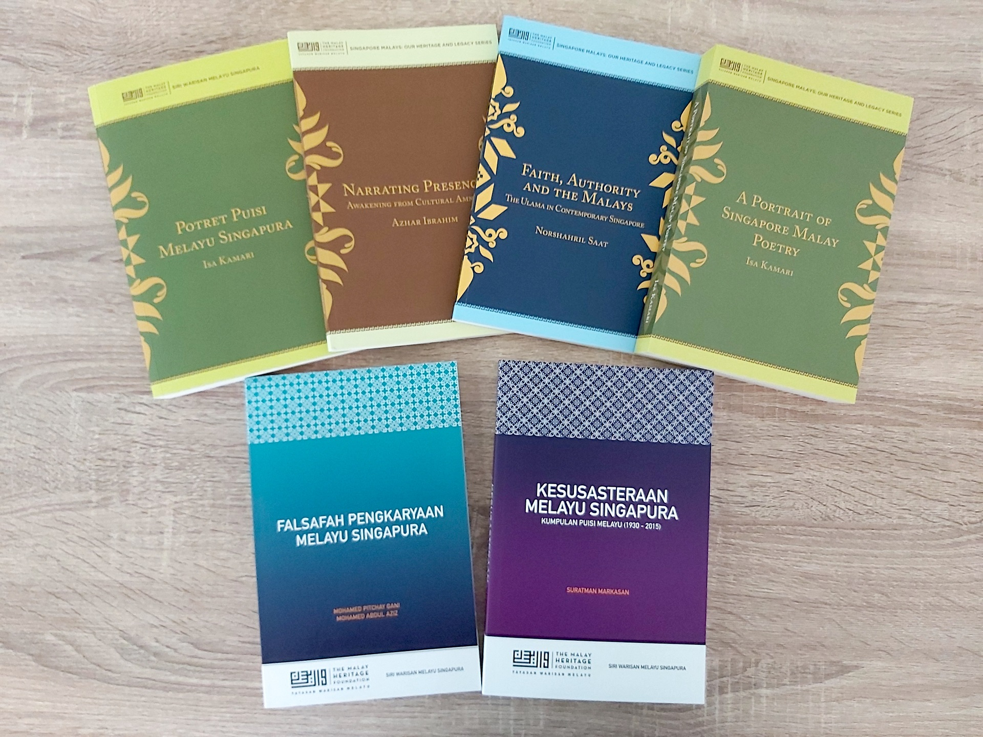 Singapore Malays_ Our Heritage and Legacy Series Book Covers